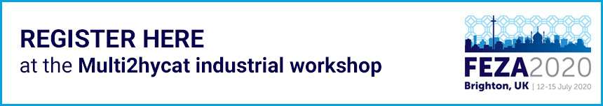 MULTI2HYCAT Industrial workshop at FEZA 2020